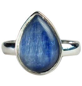 Ring - Kyanite Dewdrop Sterling Silver (Size 5) - R-5