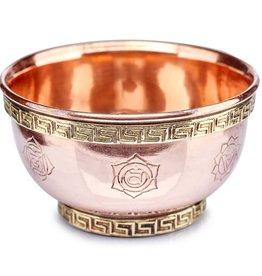 Seven Chakra Copper Bowl - CBCH