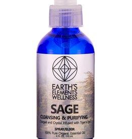 Spray - Sage Essential Oil with Tigers Eye - SGS11