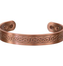 Magnetic Copper Bracelet - Celtic Knots - 95285