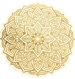 Wood Crystal Grid - Mandala - 15198