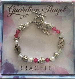 Bracelet - Winged Guardian Angel