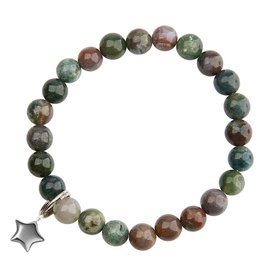 Agate & Star Bracelet - Unexpected Miracles