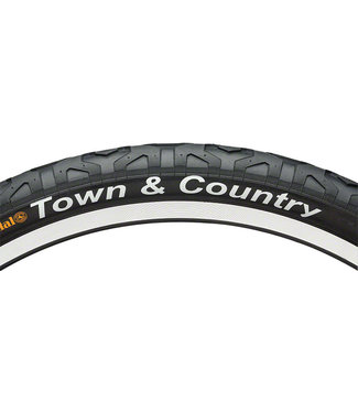 Continental Town and Country Tire - 26 x 2.1, Clincher, Wire, Black, 84tpi