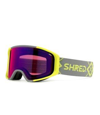 Shred Simplify Bigshow Yellow Blast Mirror + Sky Mirror