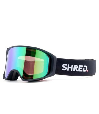 Shred Simplify Black Plasma Mirror +Sky Mirror