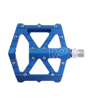 """VP Components All Purpose Pedals - Platform, Aluminum, 9/16"""", Blue"""