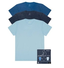 Indigo Crew Neck 3 Pack