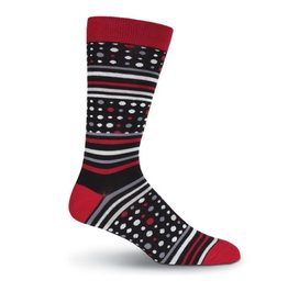 K. Bell Dots and Stripes Socks
