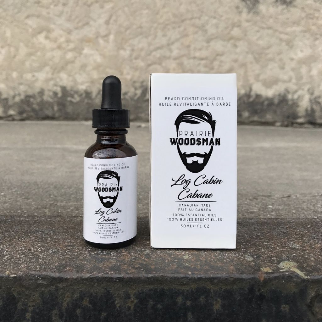 Log Cabin Beard Oil