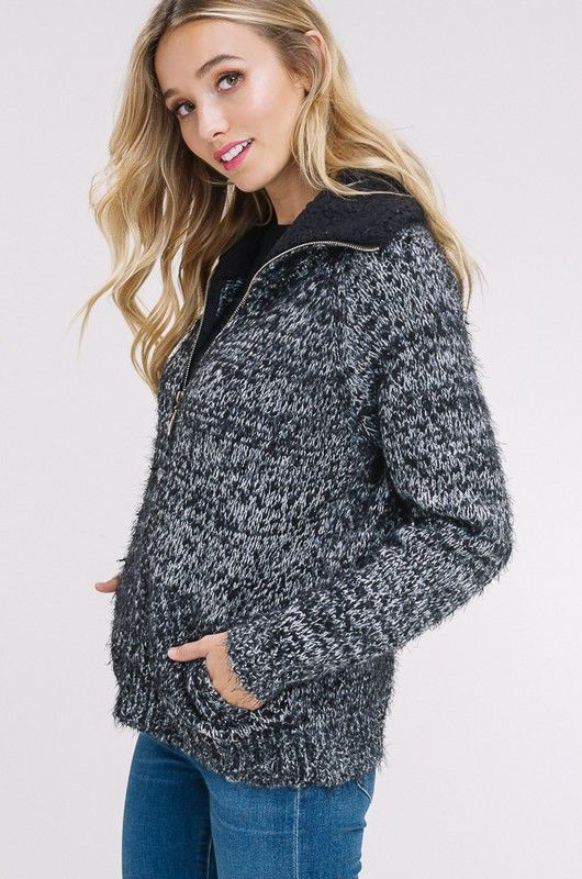 Vaila Zip Sweater