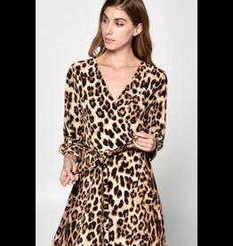 Ava Leopard Dress
