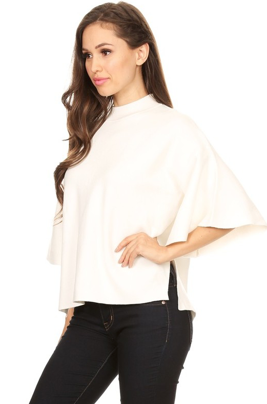 Sofia Mock Neck Sweater