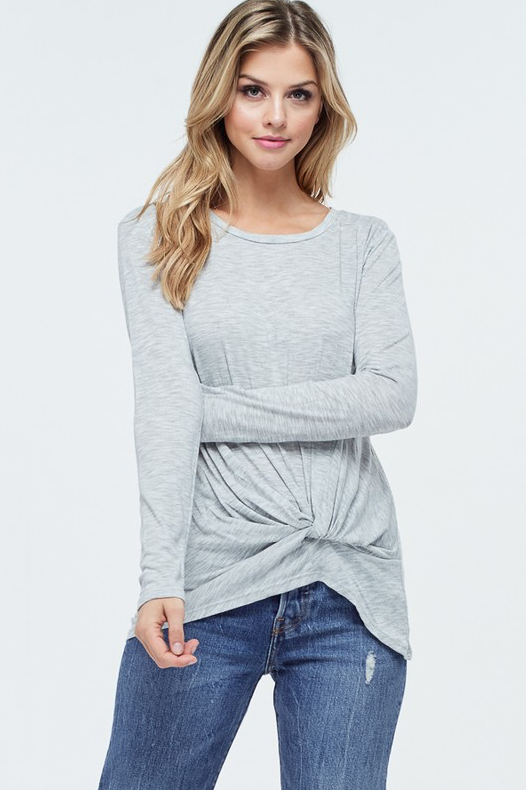 Grace Knot Top