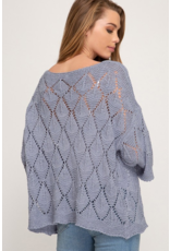 Aria Crocheted Sweater