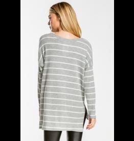 Violet Stripe Sweater