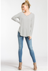 Claire V Neck Top
