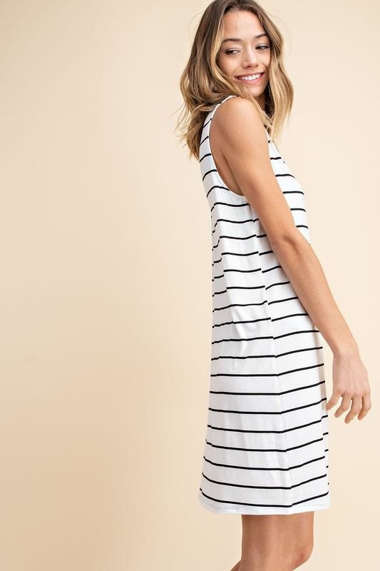 Amber Stripe Dress