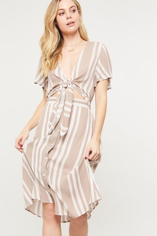 Sandy Stripe Dress