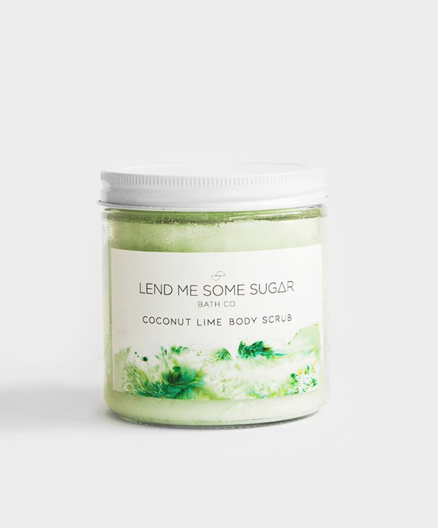 Lifestyle Coconut Lime Body Scrub