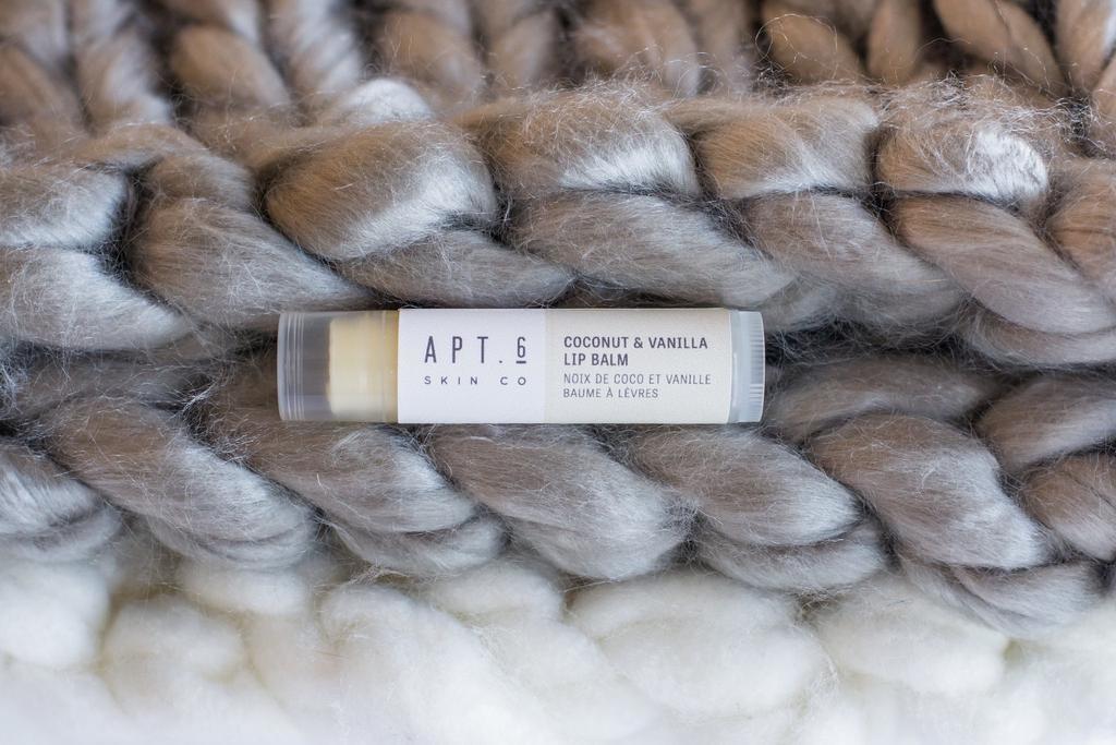 Coconut + Vanilla Lip Balm