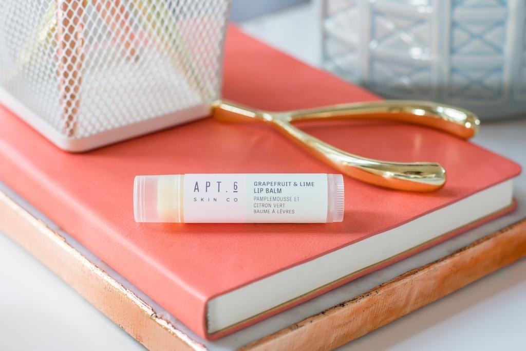 Grapefruit + Lime Lip Balm