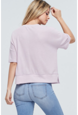 Beth Waffle Knit Top