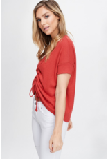 Bea Ruched Front Top
