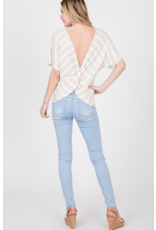 Fern Twist Back Top