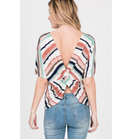 Holly Twist Back Top