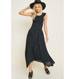 Sofia Smocked Midi Dress