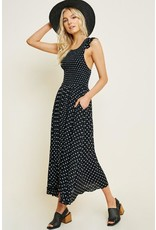 Sofia Smocked Midi Dress