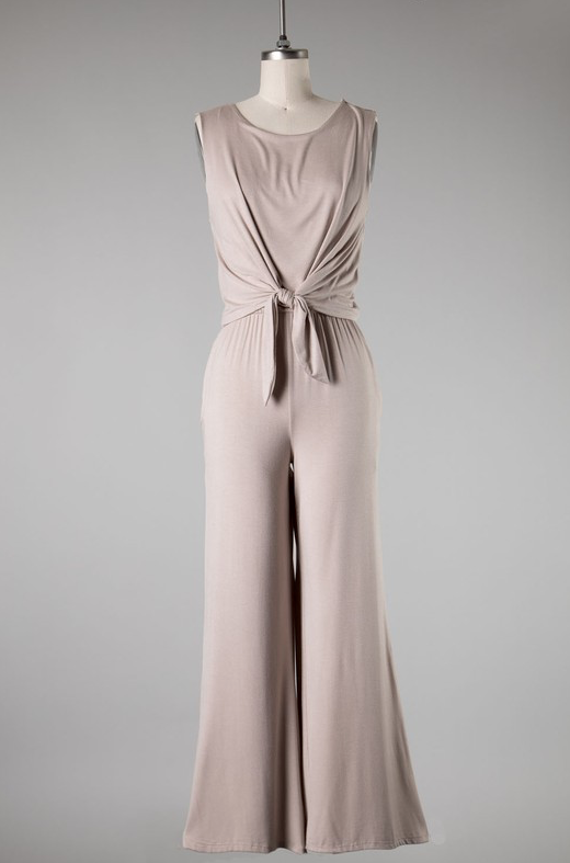 Jumpsuit Allison Square Neck Dress