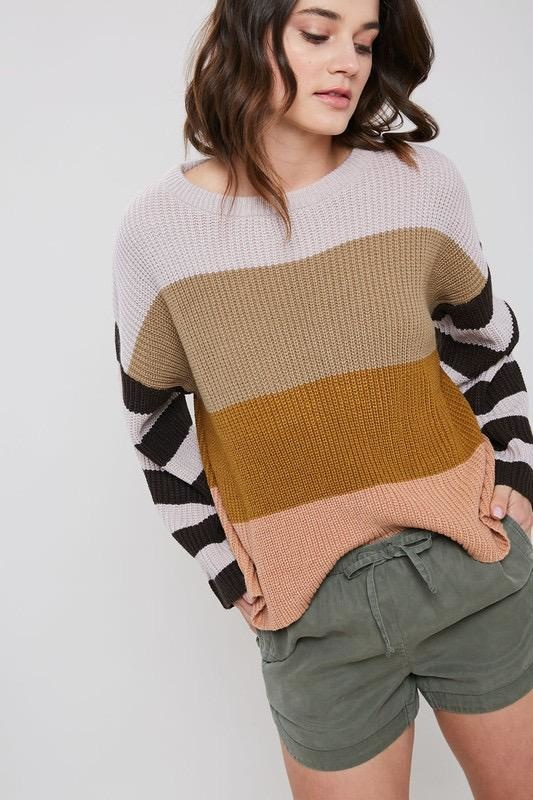 Toni Multicolour Sweater