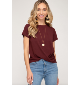 Tanya Short Sleeve Top
