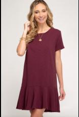 Tori Flounce Dress