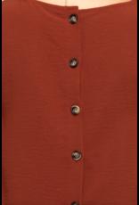 Casey Back Button Top