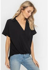 Cara Short Sleeve Blouse