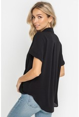 Cara Short Sleeve Blouse