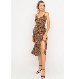 Francesa Leopard Dress
