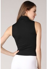 Core Collection* Sleeveless Mock Neck