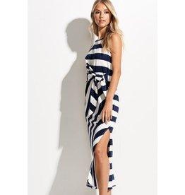 Rita Stripe Midi Dress