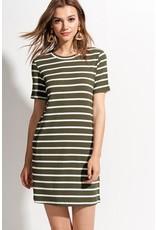 Reese Stripe T-Shirt Dress