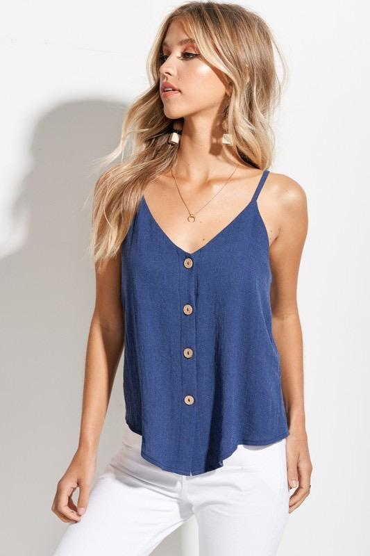 Rayna Button Up Top