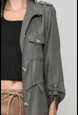 Cherish Peach Skin Jacket