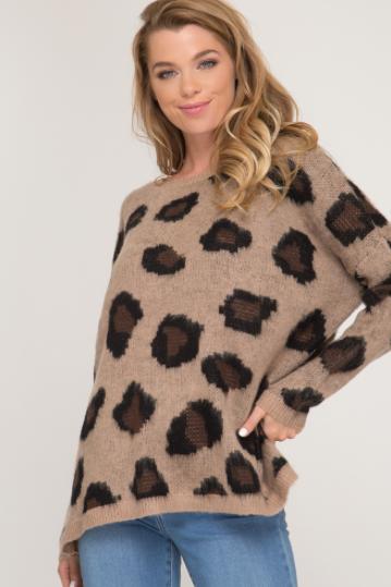 Nira Leopard Sweater