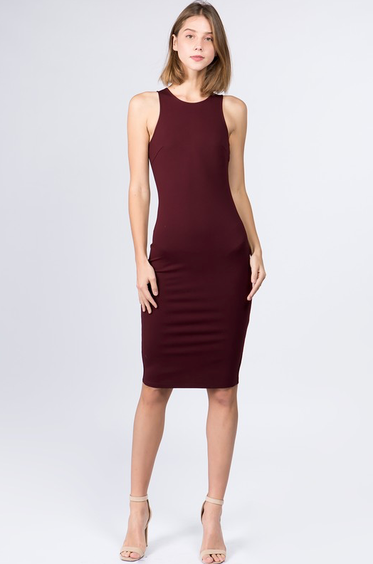 Mercy Fitted Dress