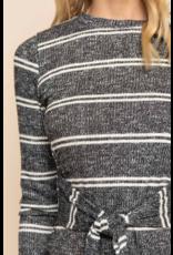 Marlene Wrap Sweater Dress