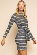 Marlene Wrap Sweater Dress