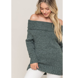 Loretta Off The Shoulder Sweater
